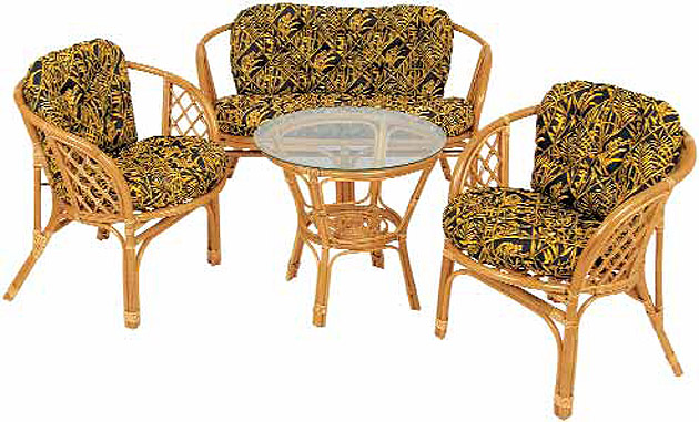 Комплект для сада- Bahama Set Rattan furniture